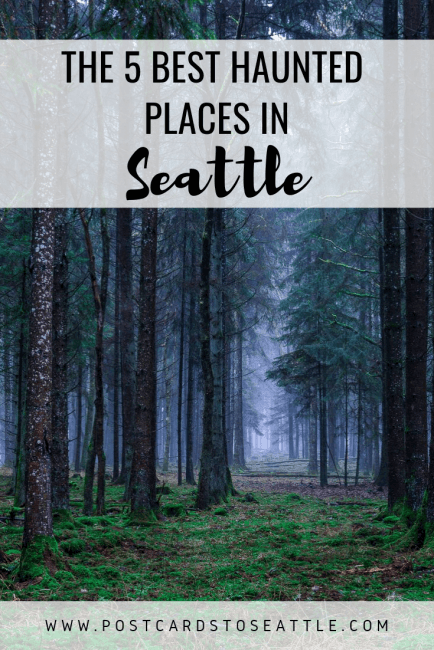 Looking to give yourself a scare this Halloween? Check out these haunted places in Seattle. #halloween #haunted #ghosts #Seattle #washington
