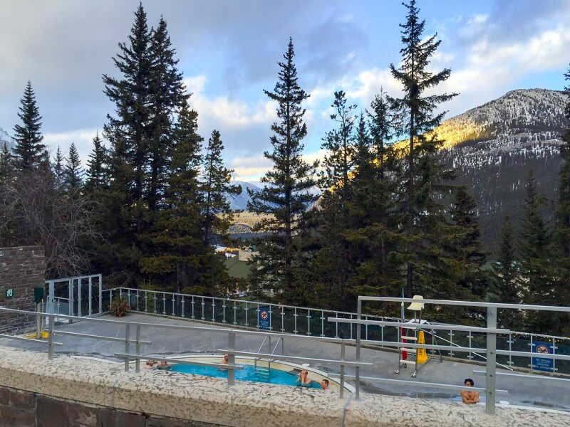 what to do in banff upper hot springs