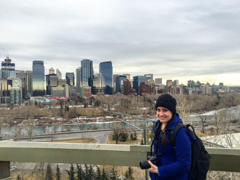 winter vacation calgary city