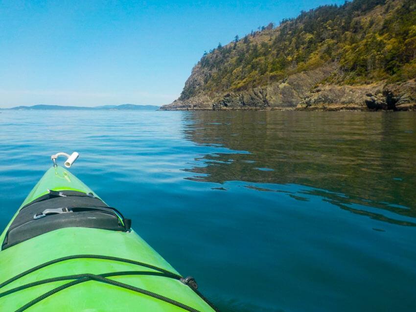 kayaking anacortes