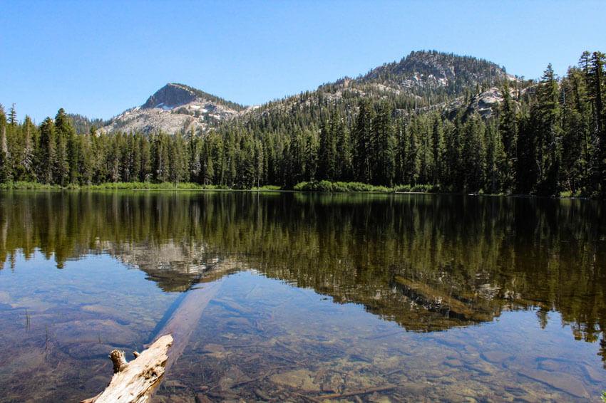 summer in lake tahoe hike
