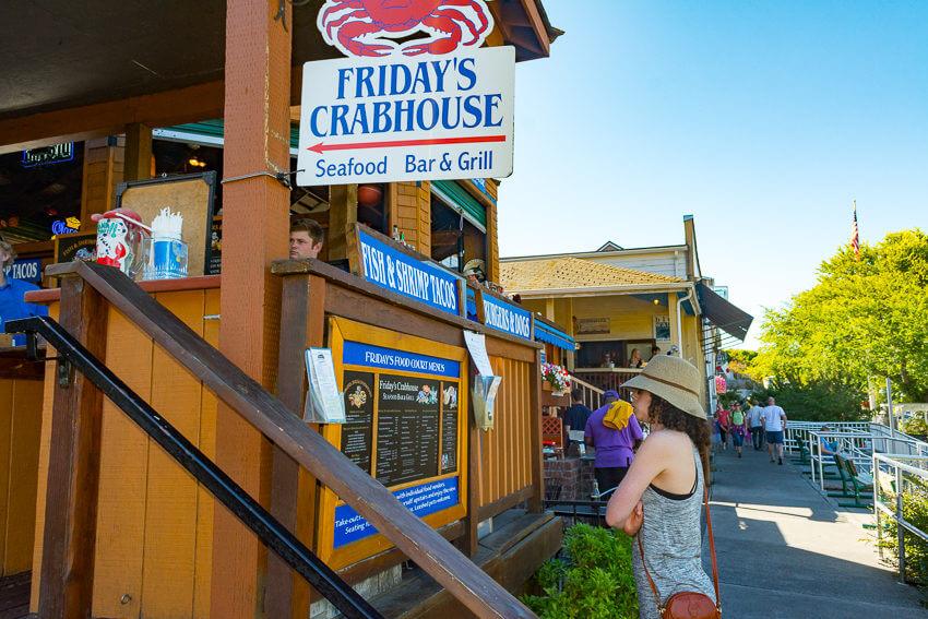 friday harbor crab house