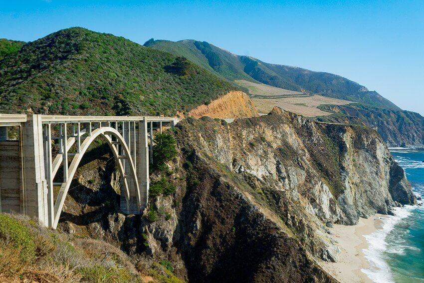 big sur road trip bixby bridge
