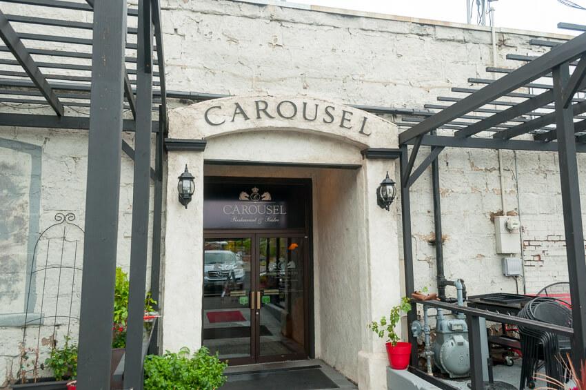 visiting yakima carousel