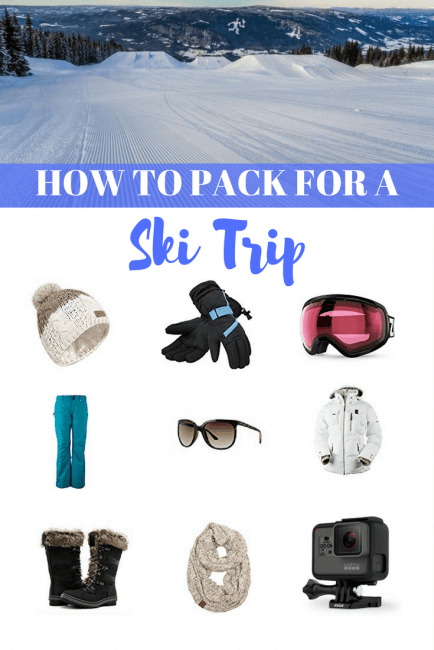 What to Pack for a Ski Trip Weekend