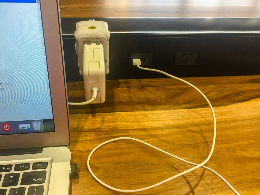 airport travel hacks phone charger