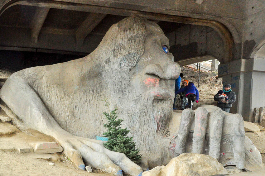fremont troll seattle photography
