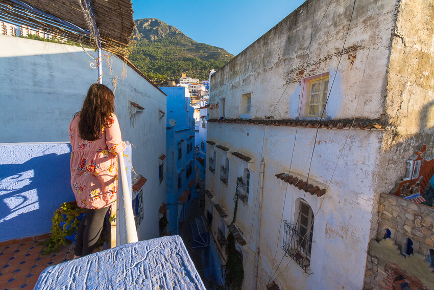 solo female travel chefchaouen