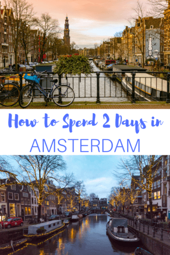 Amsterdam is a city full of canals, bikes, and cafes that's perfect for exploring. Here's a weekend itinerary for 2 days in Amsterdam.