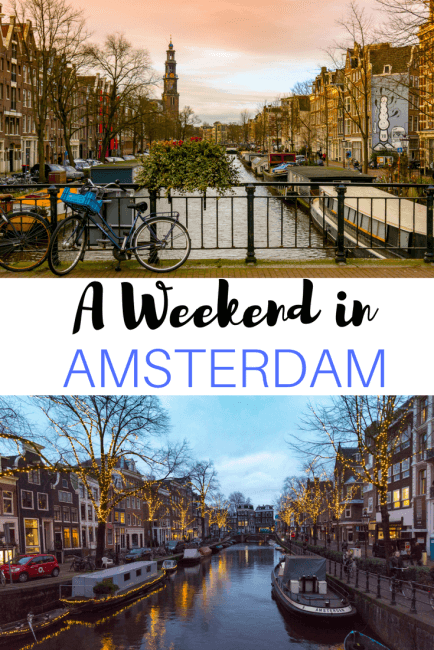 2 Days in Amsterdam - A Weekend Itinerary