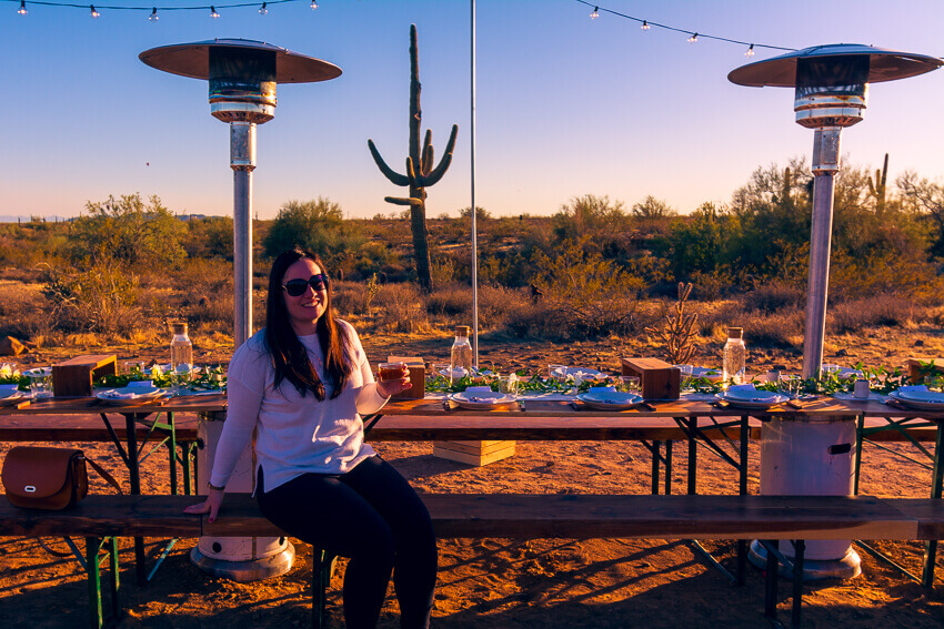 spring in arizona dinner