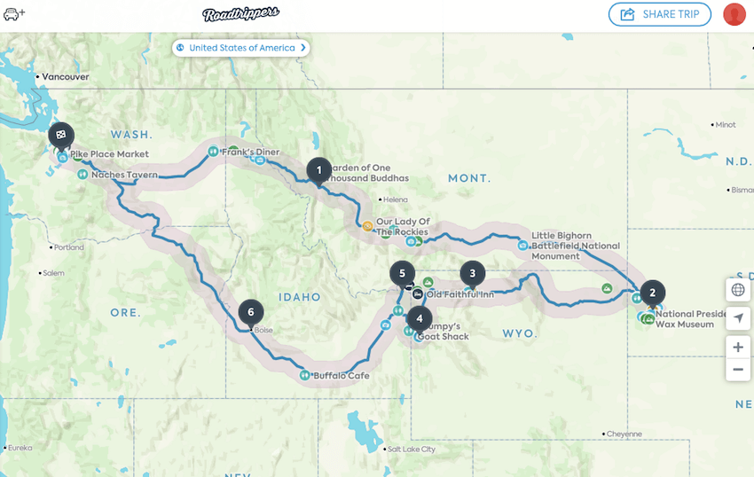 Plan A Road Trip >> Helpful Tips To Plan A Road Trip Postcards To Seattle