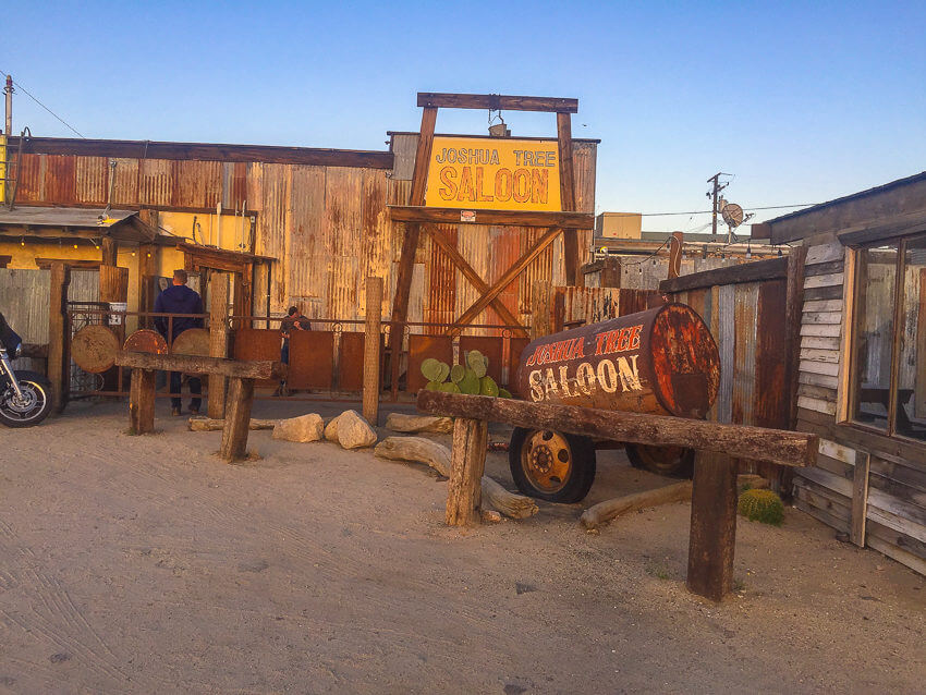 joshua tree saloon