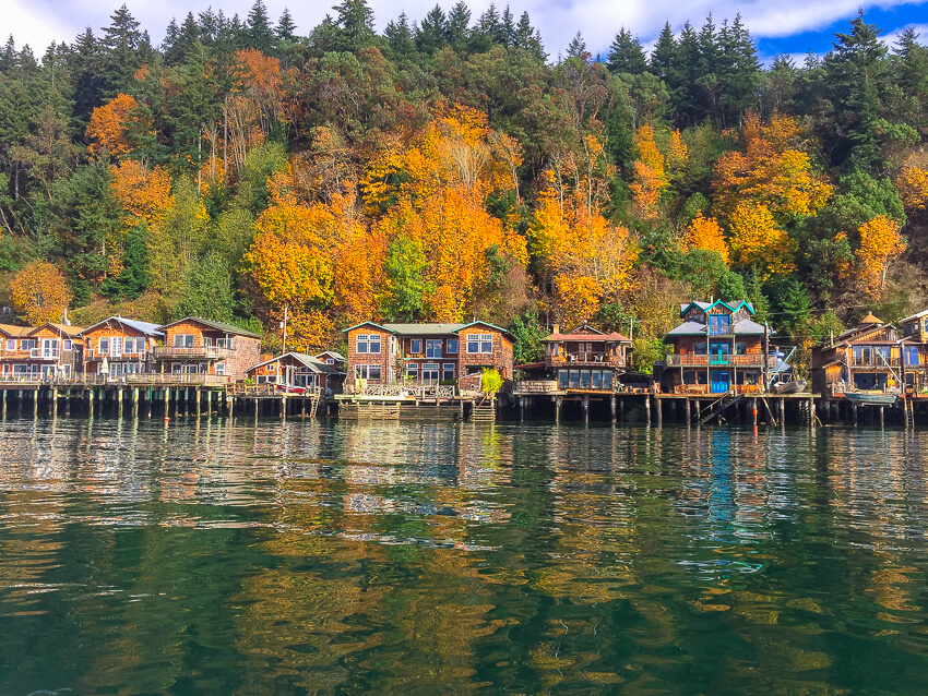 west coast itinerary gig harbor