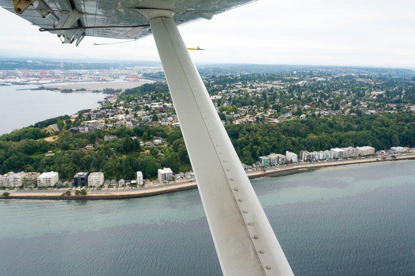 summer in seattle seaplane