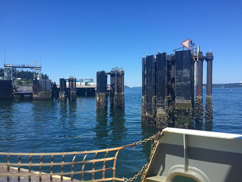 weekend on whidbey island ferry