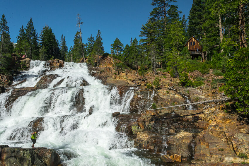 lake tahoe hikes glen alpine falls