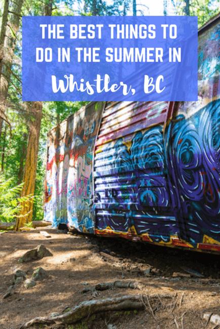 The Top 17 Whistler Summer Activities to Enjoy