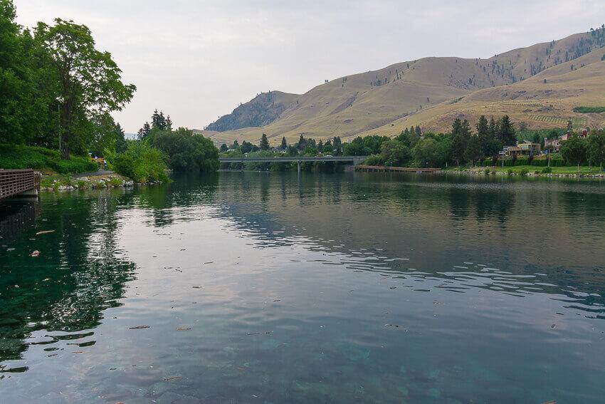 lake chelan river walk