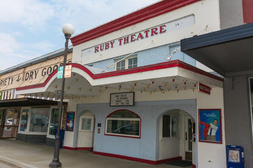 chelan ruby theater