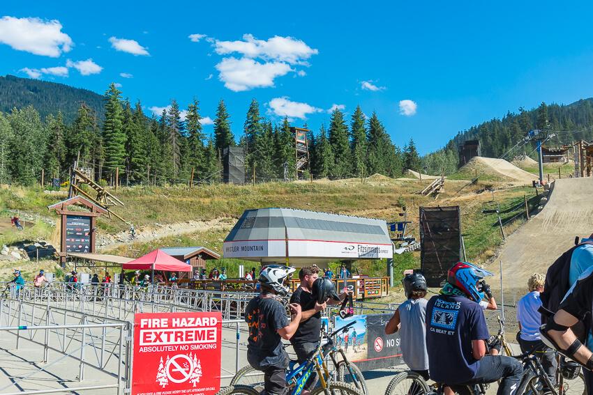 bike park summer in whistler