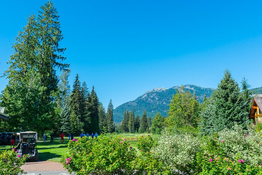 whistler summer activities golfing