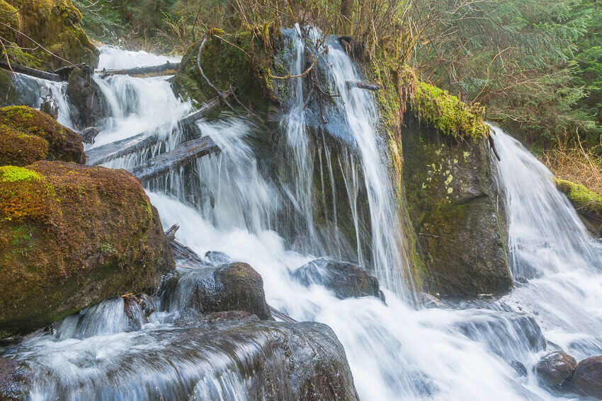 waterfall best time to visit alaska