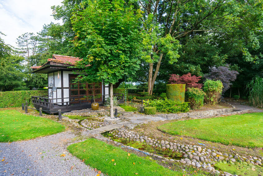 country house hotels in ireland viewmount house japanese garden