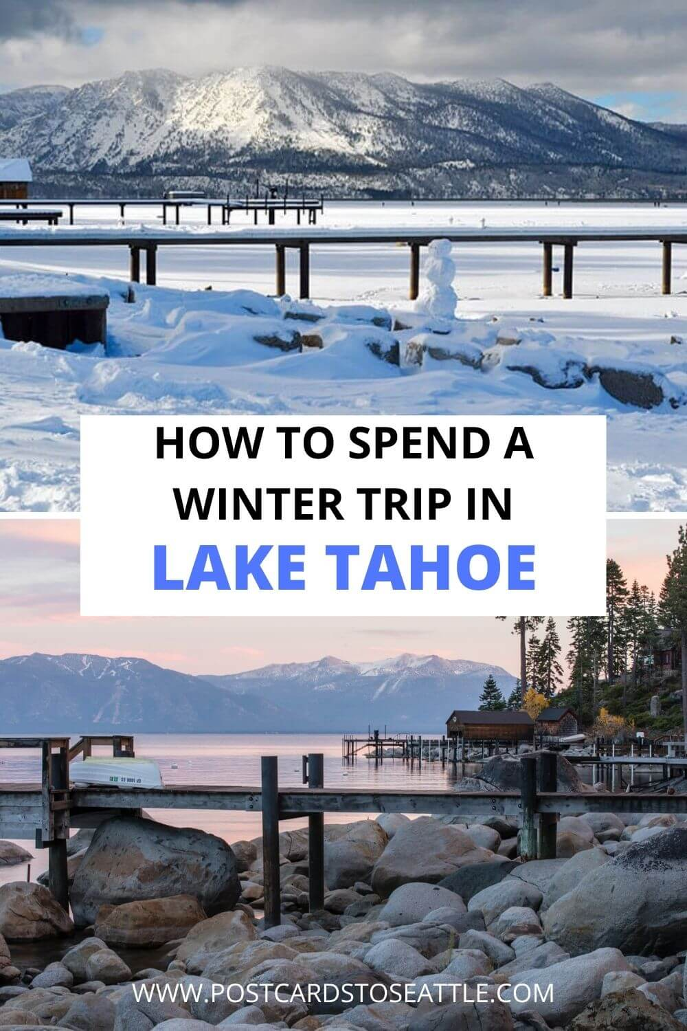 How to Plan an Epic Lake Tahoe Winter Vacation