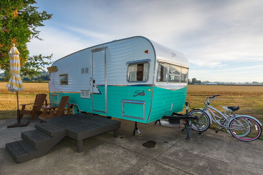 things to do in willamette valley vintage trailer