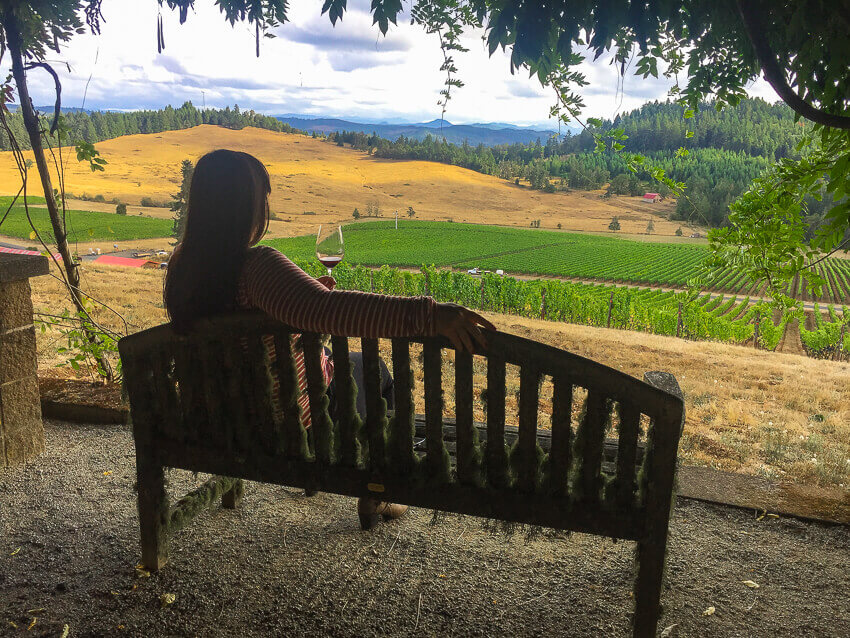 willamette valley wineries iris winery