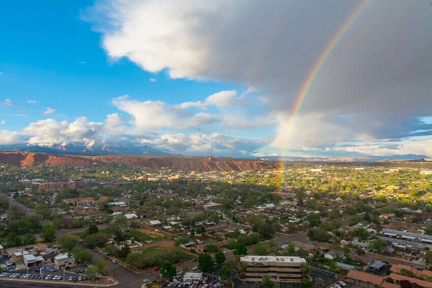 things to do in st george rainbow
