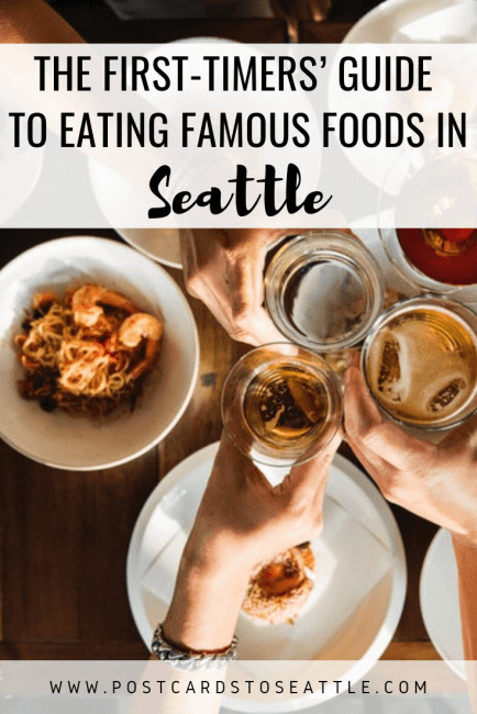First time in Seattle? Check out this food guide on where to eat in Seattle during your trip! #seattlevacation #culinary #seattlefood #coffeelovers