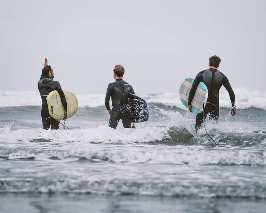 surfing in washington pacific ocean