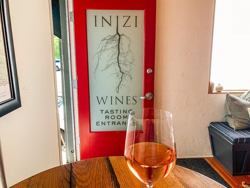 inizi wine Sonoma weekend