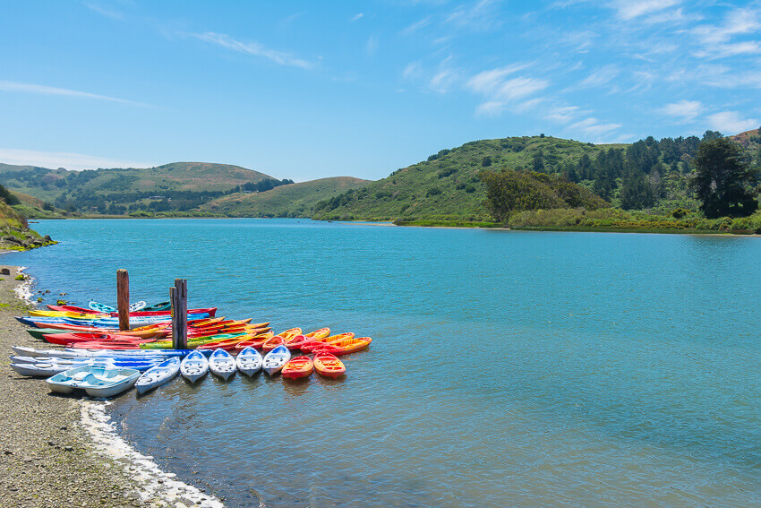 kayaking in jenner 3 day sonoma itinerary