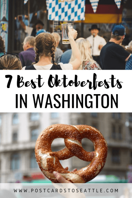 Ready to celebrate Oktoberfest in Seattle this fall? Here are some of the best Oktoberfests in Washington State to attend. #seattle #oktoberfest #washington #beer