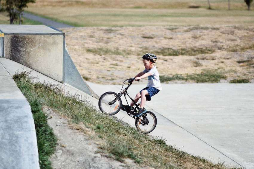 seattle with kids biking