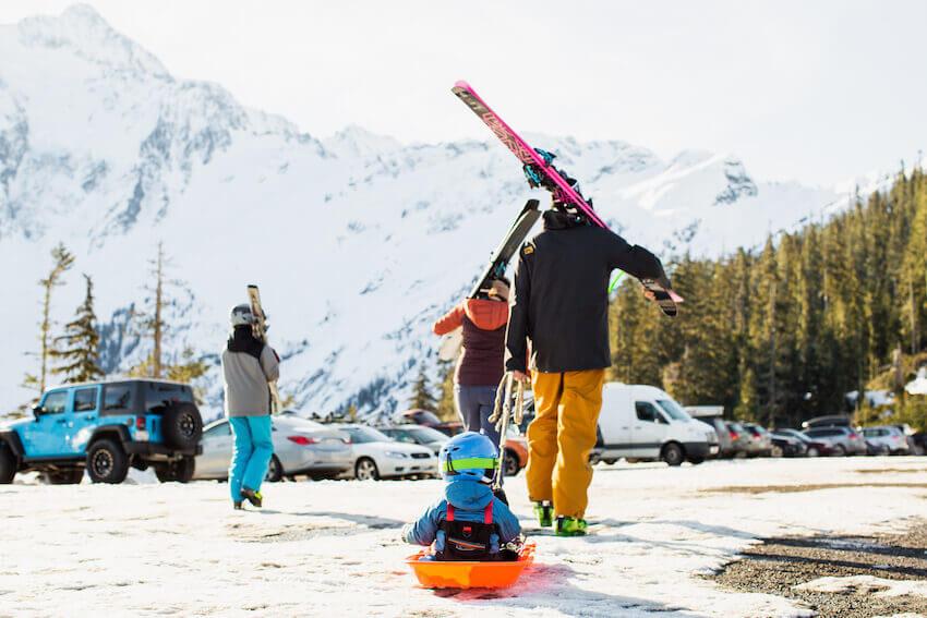 washington ski resorts kids
