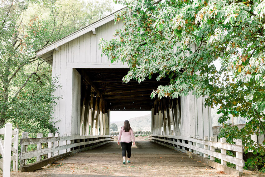 covered bridges oregon