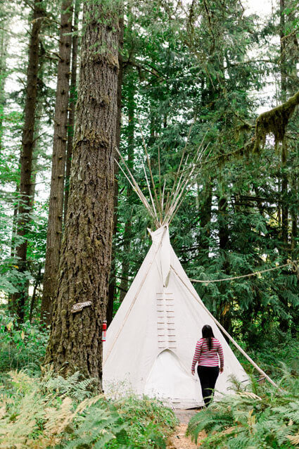 tipi village oregon