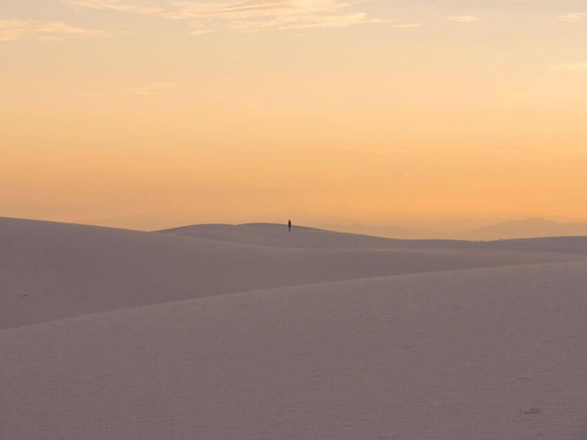 national park checklist white sands