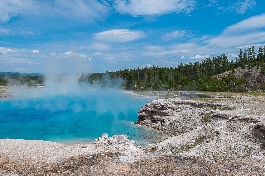 Yellowstone national park checklist