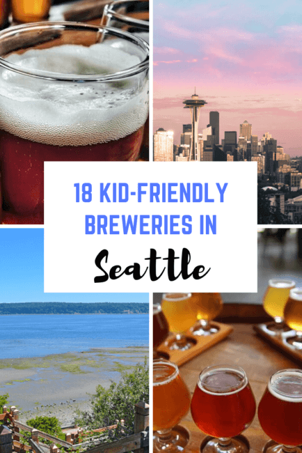 18 Kid-Friendly Breweries in Seattle for the Whole Family
