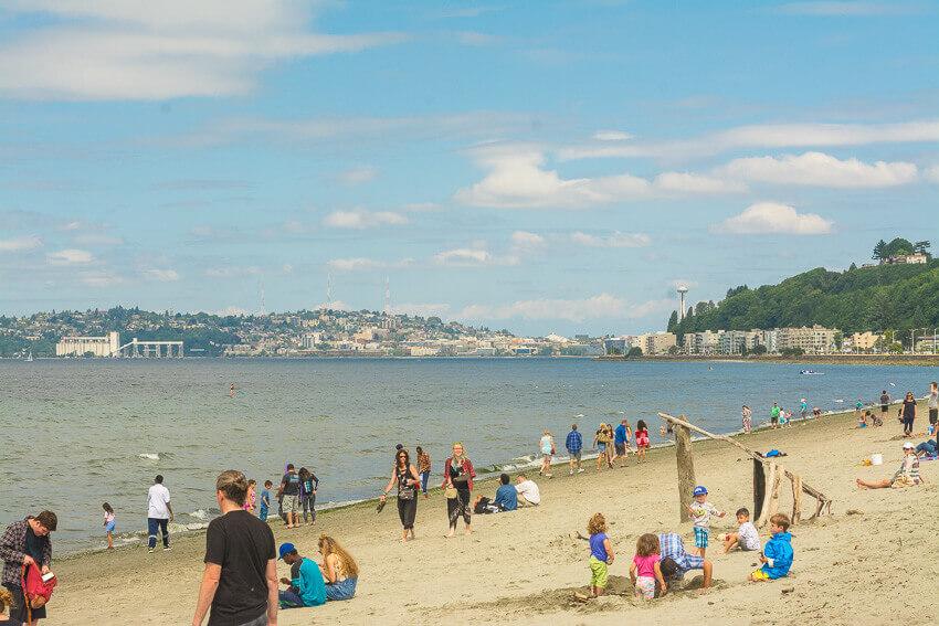alki beach seattle budget