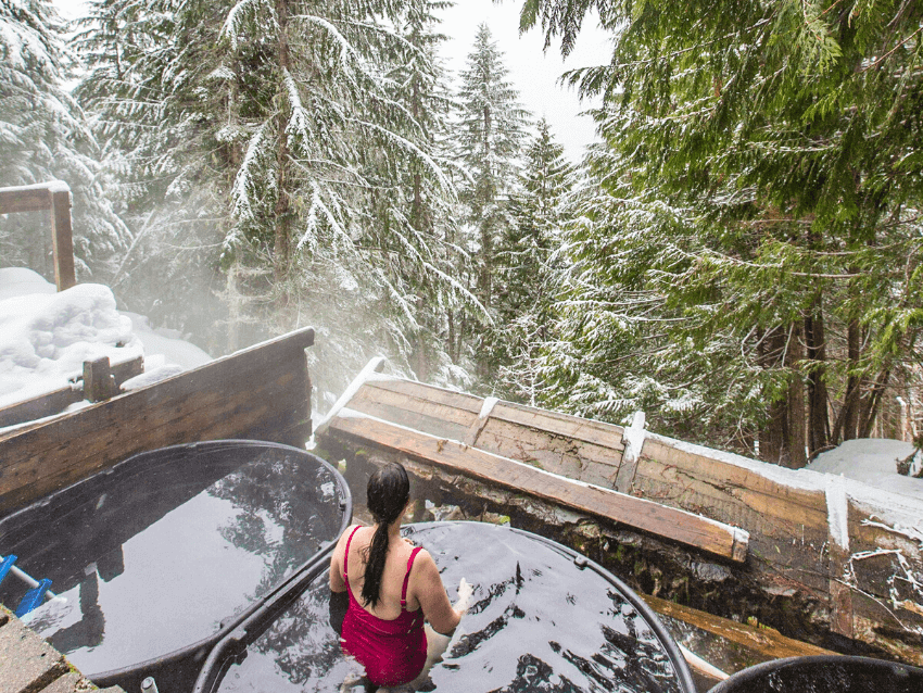 scenic hot springs cascades