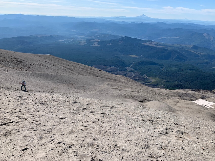 mt st helens summit hike