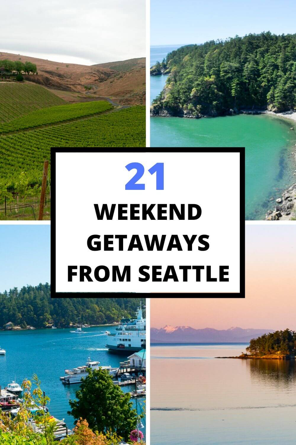 21 Incredible Weekend Trips From Seattle to Explore