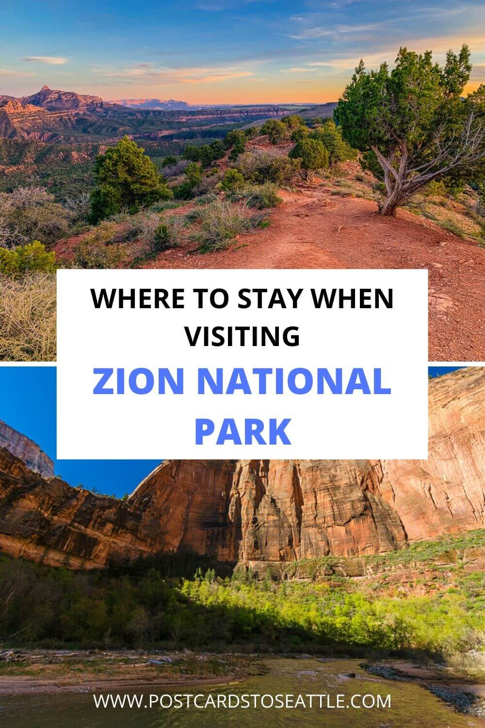 The Best Places to Stay in and Near Zion National Park