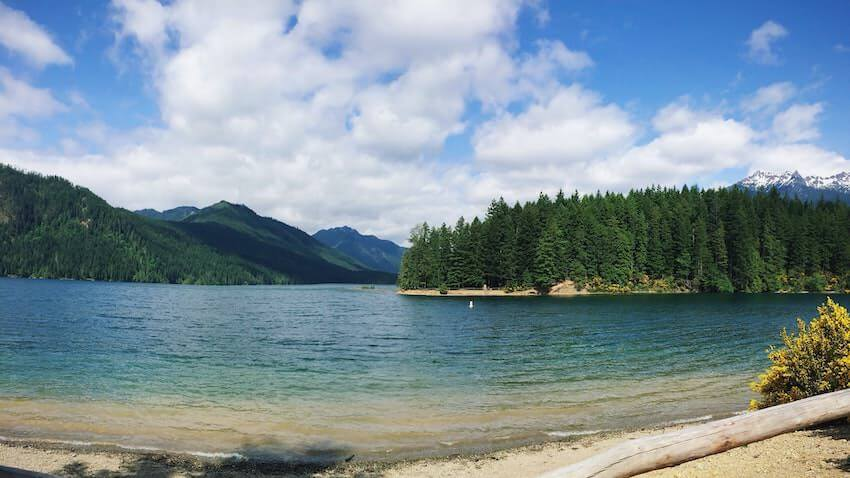 lake quinault Olympic Peninsula itinerary